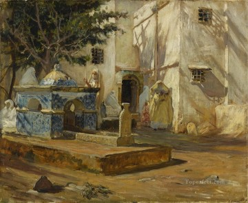 ALGER MAREH Frederick Arthur Bridgman Oil Paintings