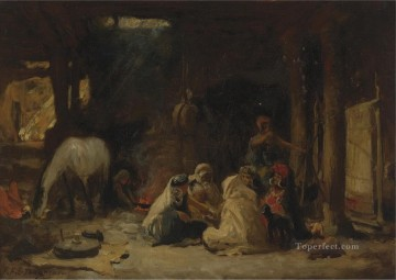 AT REST ALGERIA Frederick Arthur Bridgman Oil Paintings