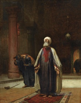 Frederick Arthur Bridgman Painting - THE PRAYER Frederick Arthur Bridgman