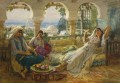 ON THE TERRACE Frederick Arthur Bridgman