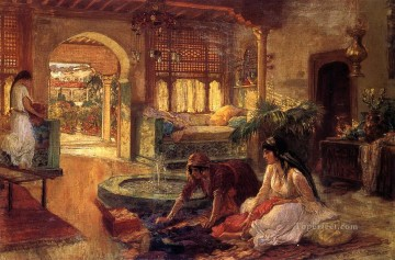 Orientalist Interior Frederick Arthur Bridgman Oil Paintings