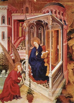 The Annunciation Melchior Broederlam Oil Paintings