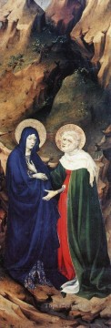 The Visitation Melchior Broederlam Oil Paintings