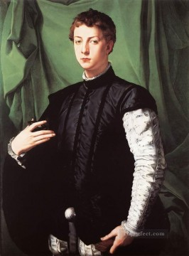 on - Portrait of Ludovico Capponi Florence Agnolo Bronzino