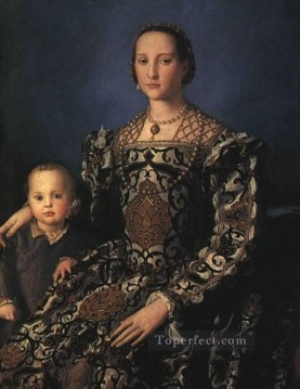 on - Eleonora of Toledo and son Florence Agnolo Bronzino