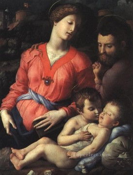 on - Panciatichi holy family Florence Agnolo Bronzino