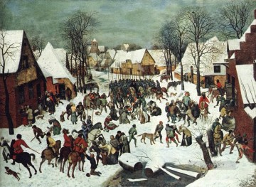 pieter bruegel Painting - The Slaughter Of The Innocents Flemish Renaissance peasant Pieter Bruegel the Elder
