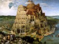 The Tower Of Babel 1563 Flemish Renaissance peasant Pieter Bruegel the Elder