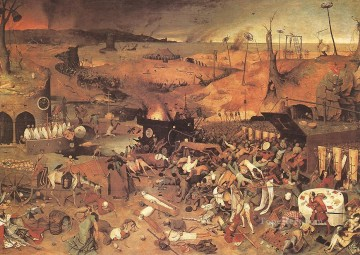 The Triumph Of Death Flemish Renaissance peasant Pieter Bruegel the Elder Oil Paintings