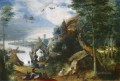 Landscape With The Temptation Of Saint Anthony Flemish Renaissance peasant Pieter Bruegel the Elder