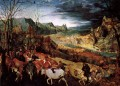 The Return of the Herd Flemish Renaissance peasant Pieter Bruegel the Elder