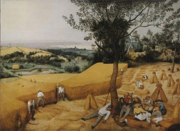 pieter bruegel Painting - The Harvesters Flemish Renaissance peasant Pieter Bruegel the Elder