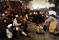 The Peasant Dance Flemish Renaissance peasant Pieter Bruegel the Elder