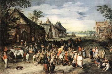 St Martin Flemish Jan Brueghel the Elder Oil Paintings