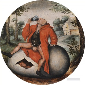 pieter bruegel Painting - Drunkard on an egg Pieter Brueghel the Younger