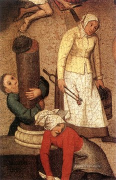 young Art - Proverbs 1 peasant genre Pieter Brueghel the Younger