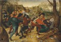 A country brawl Pieter Brueghel the Younger