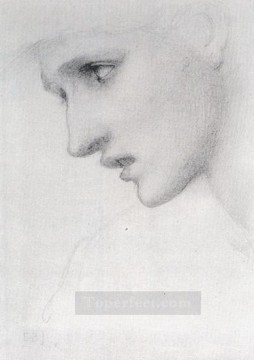 profil Works - Profile To The Left PreRaphaelite Sir Edward Burne Jones