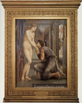 lion art - Pygmalion and the Image IV The Soul Attains PreRaphaelite Sir Edward Burne Jones