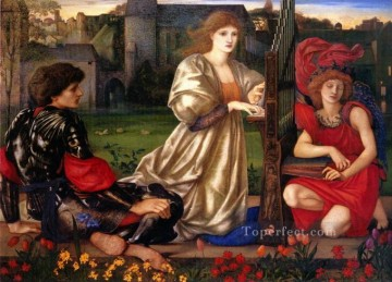 Song Art - Le Chant dAmour Song of Love PreRaphaelite Sir Edward Burne Jones
