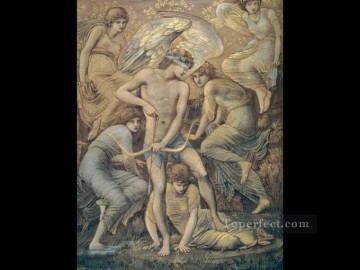hunting Canvas - Cupids Hunting Fields PreRaphaelite Sir Edward Burne Jones