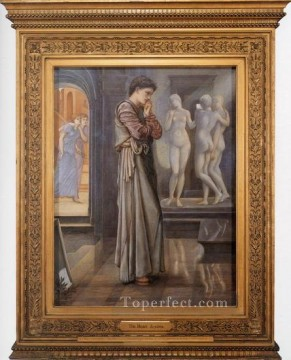 Heart Painting - Pygmalion and the Image I The Heart Desires PreRaphaelite Sir Edward Burne Jones