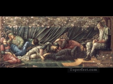 rose roses Painting - The Briar Rose The Council Chamber PreRaphaelite Sir Edward Burne Jones