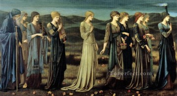 1895 Works - The Wedding of Psyche 1895 PreRaphaelite Sir Edward Burne Jones