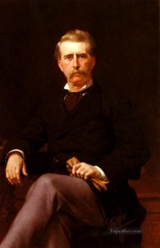 William Canvas - Portrait De John William Mackay Academicism Alexandre Cabanel
