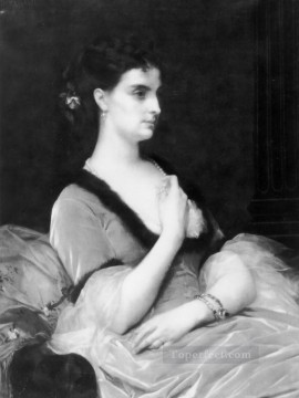 lady painting - Portrait of a Lady Academicism Alexandre Cabanel