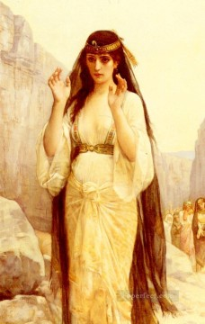 Alexandre Cabanel Painting - The Daughter Of Jephthah Academicism Alexandre Cabanel