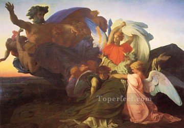 Alexandre Cabanel Painting - The Death of Moses Alexandre Cabanel
