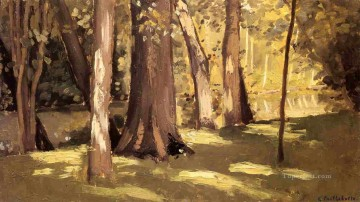 lan - The Yerres Effect of Light landscape Gustave Caillebotte