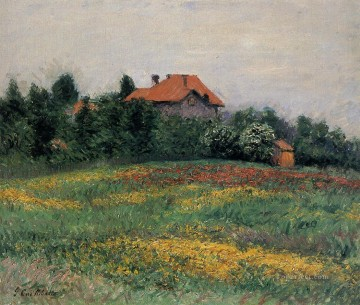 Norman Landscape landscape Gustave Caillebotte Oil Paintings
