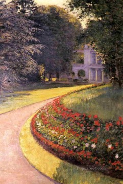 The Park at Yerres landscape Gustave Caillebotte Oil Paintings