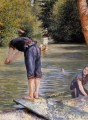 Bathers Gustave Caillebotte
