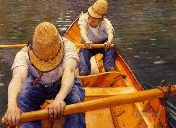 Oarsmen Gustave Caillebotte Oil Paintings