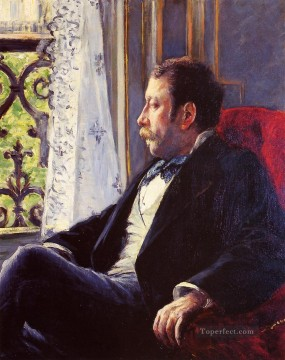 Portrait of a Man Gustave Caillebotte Oil Paintings