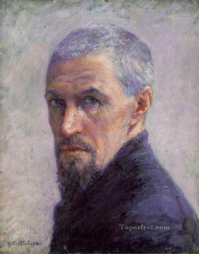 Self Portrait Gustave Caillebotte Oil Paintings