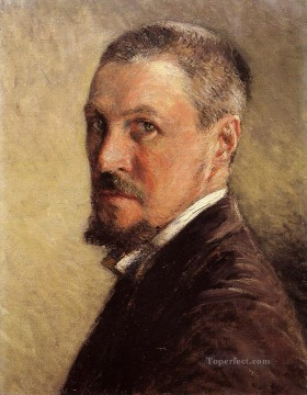 Self Portrait2 Gustave Caillebotte Oil Paintings