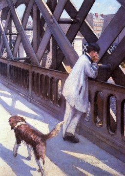L Europe Le Pont De Gustave Caillebotte Oil Paintings