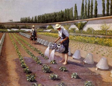 The Gardenerspg Gustave Caillebotte Oil Paintings