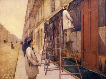 Painters Art - The House Painters Gustave Caillebotte