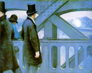 Bridge of Europe Gustave Caillebotte Oil Paintings