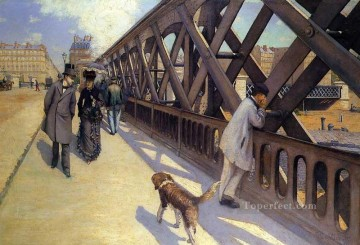 The Pont du Europe Gustave Caillebotte Oil Paintings