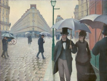 Paris Gustave Caillebotte Oil Paintings