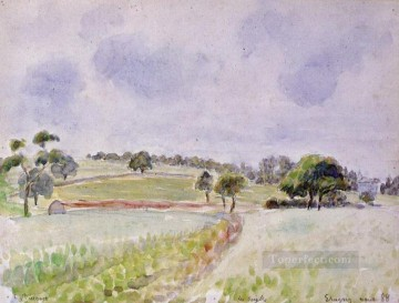 Field Painting - field of rye 1888 Camille Pissarro