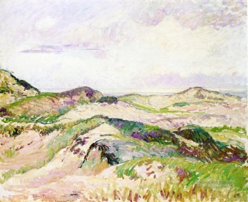 the dunes at knokke Camille Pissarro Oil Paintings