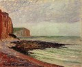 cliffs at petit dalles 1883 Camille Pissarro
