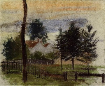 landscape at louveciennes Camille Pissarro Oil Paintings